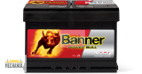 Autobaterie Banner Power Bull P74 12, 74Ah, 12V 680A