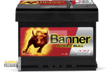 Autobaterie Banner Power Bull P60 09, 60Ah, 12V 540A