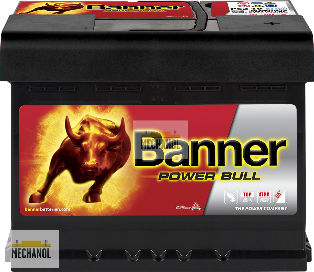 Autobaterie Banner Power Bull P62 19, 62Ah, 12V  540A