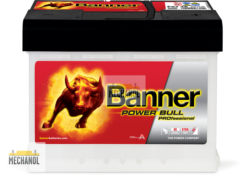 Autobaterie Banner Power Bull PROfessional P63 40, 63Ah, 12V 600A