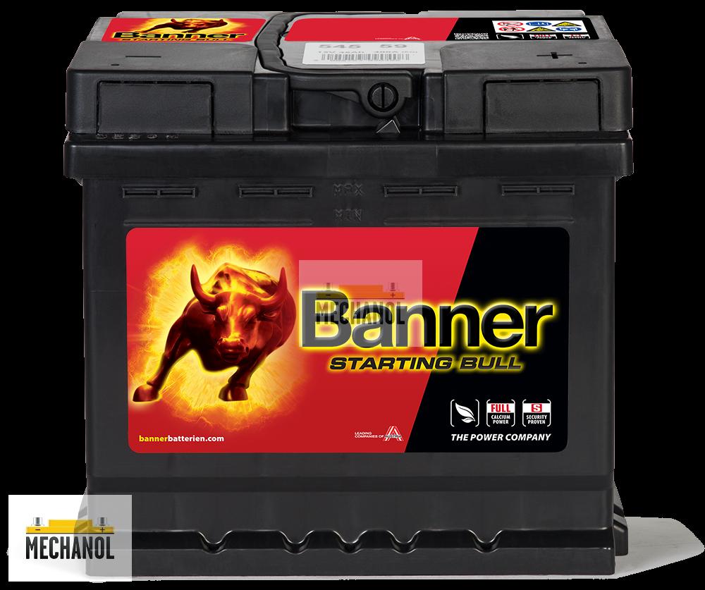Autobaterie Banner Starting Bull 545 59 3fdd93cfab6