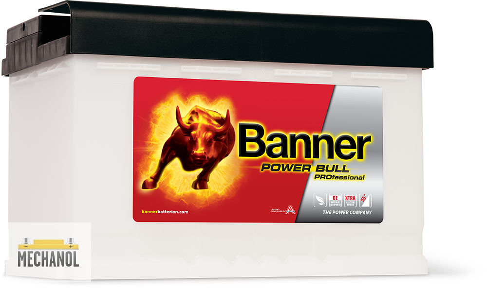 Autobaterie Banner Power Bull PROfessional P84 44 12V 84Ah 760A
