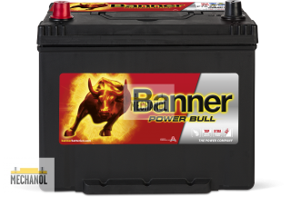 Autobaterie Banner Power Bull P70 24, 12V, 70Ah, 600A.