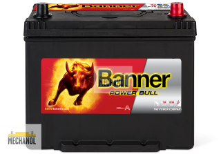 Autobaterie Banner Power Bull P70 29, 12V, 70Ah, 600A.
