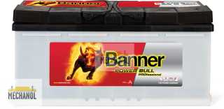 Autobaterie Banner Power Bull PROfessional P100 40, 100Ah, 12V 800A