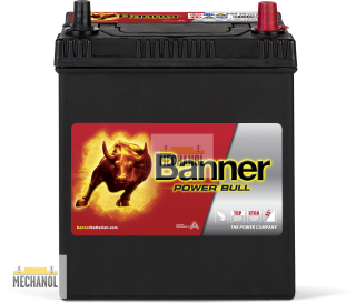 Autobaterie Banner Power Bull P40 26, 12V, 40Ah, 330A.