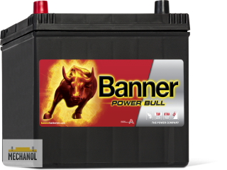 Autobaterie Banner Power Bull P60 69, 12V, 60Ah, 510A.