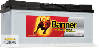 Autobaterie Banner Power Bull P110 40 110Ah  12V 850A