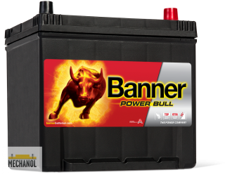 Autobaterie Banner Power Bull P60 62, 12V, 60Ah, 510A.