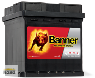 Autobaterie Banner Power bull  P42 08, 12V, 42Ah, 390A.