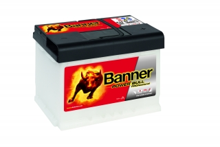 Autobaterie Banner Power Bull PROfessional P50 40, 50Ah, 12V