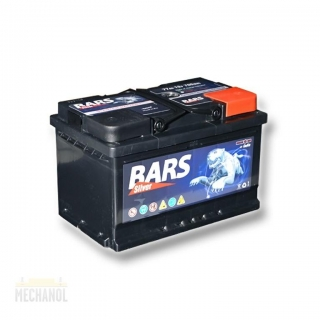 Autobaterie BARS Silver 12V 77Ah 700A