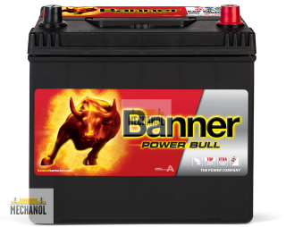Autobaterie Banner Power Bull P60 68, 12V, 60Ah, 510A.